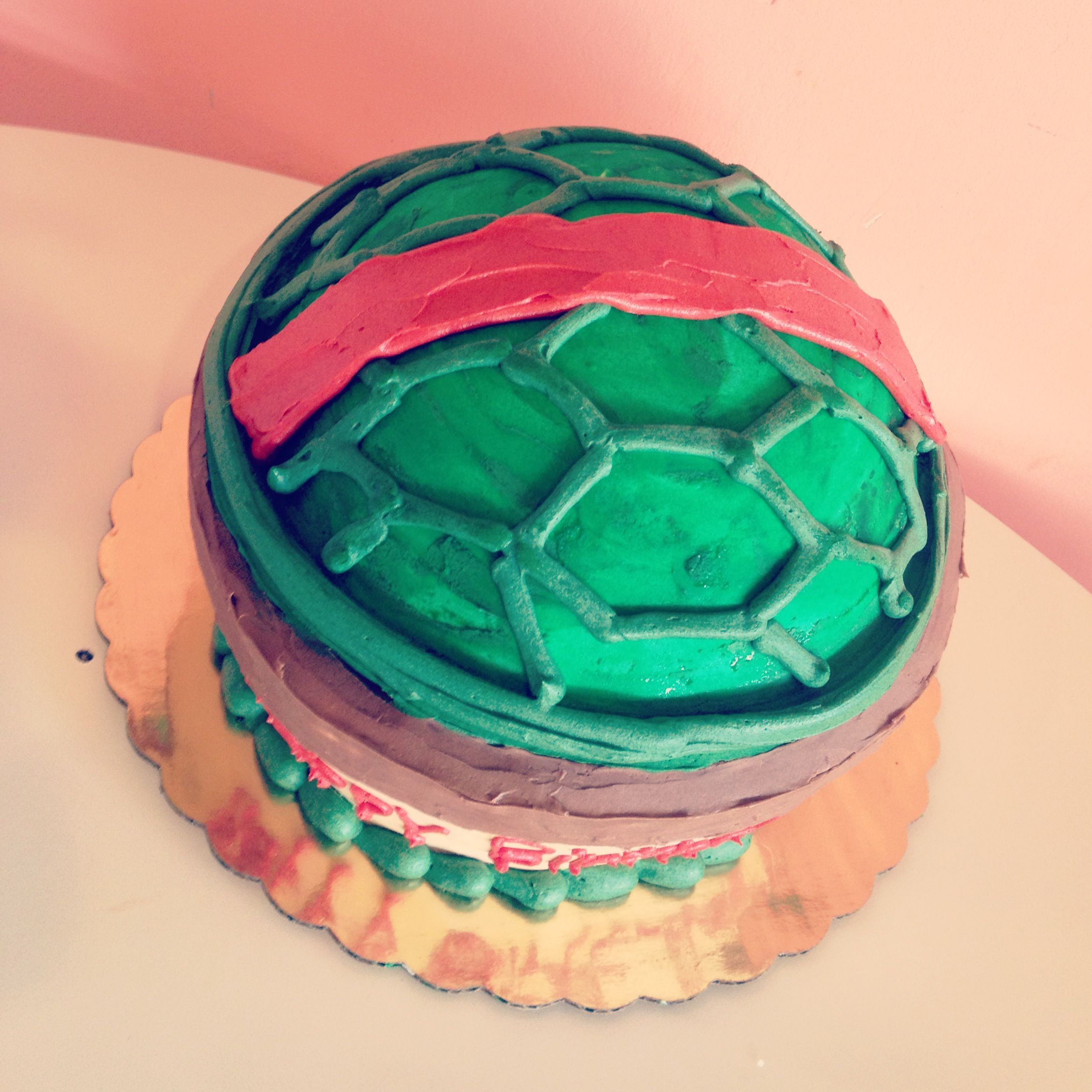 Ninja Turtle Shell Cake by 2tarts Bakery New Braunfels, TX www ...