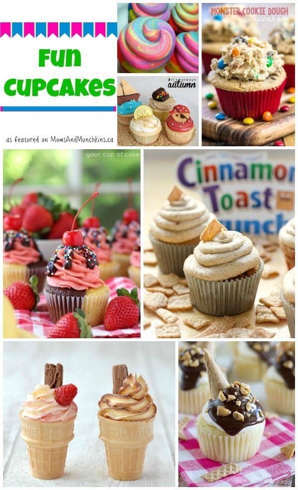Fun Cupcake Recipes Collection Fun cupcakes Recipes and Recipe