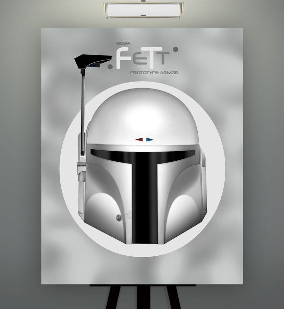 Star Wars Inspired Boba Fett Prototype Herofied Helm by Herofied