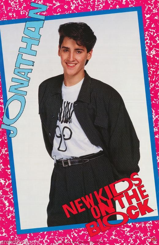 New Kids on the Block # 18-8 x 10 Tee Shirt Iron On Transfer Jonathan Knight