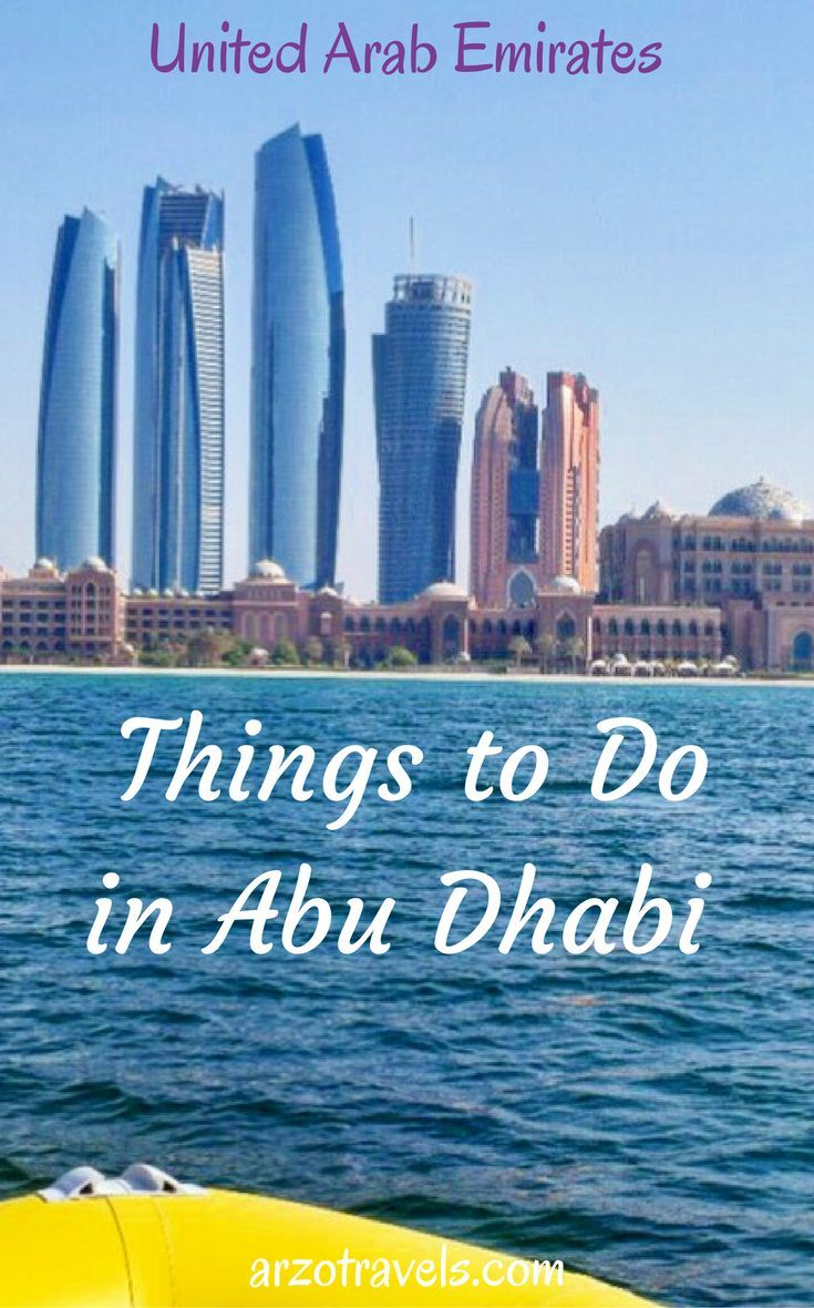 Things to do in Abu Dhabi in 3 days, UAE: http://buff.ly/2irqpW3