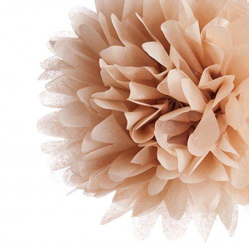 Kraft Tissue Paper Pom Poms