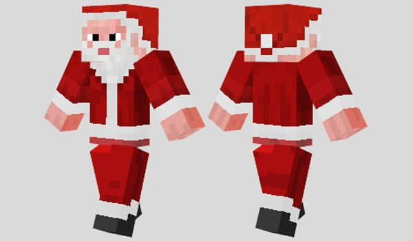 Christmas Minecraft Santa.Santa Claus Skin Para Minecraft Minecraft Minecraft