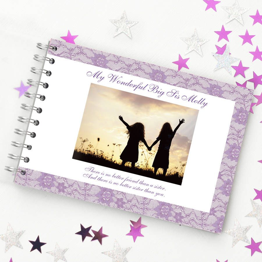 Personalised sister book sister personalized sisters