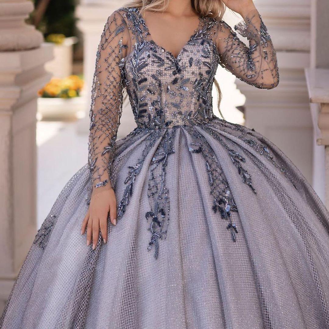 فستان فخم وأنيق Reemfashion17 فساتين راقية فساتين اعراس فساتين زفاف فساتين فستان سهره فساتين افراح فستان فساتين كشخ Gowns Ball Gowns Dresses