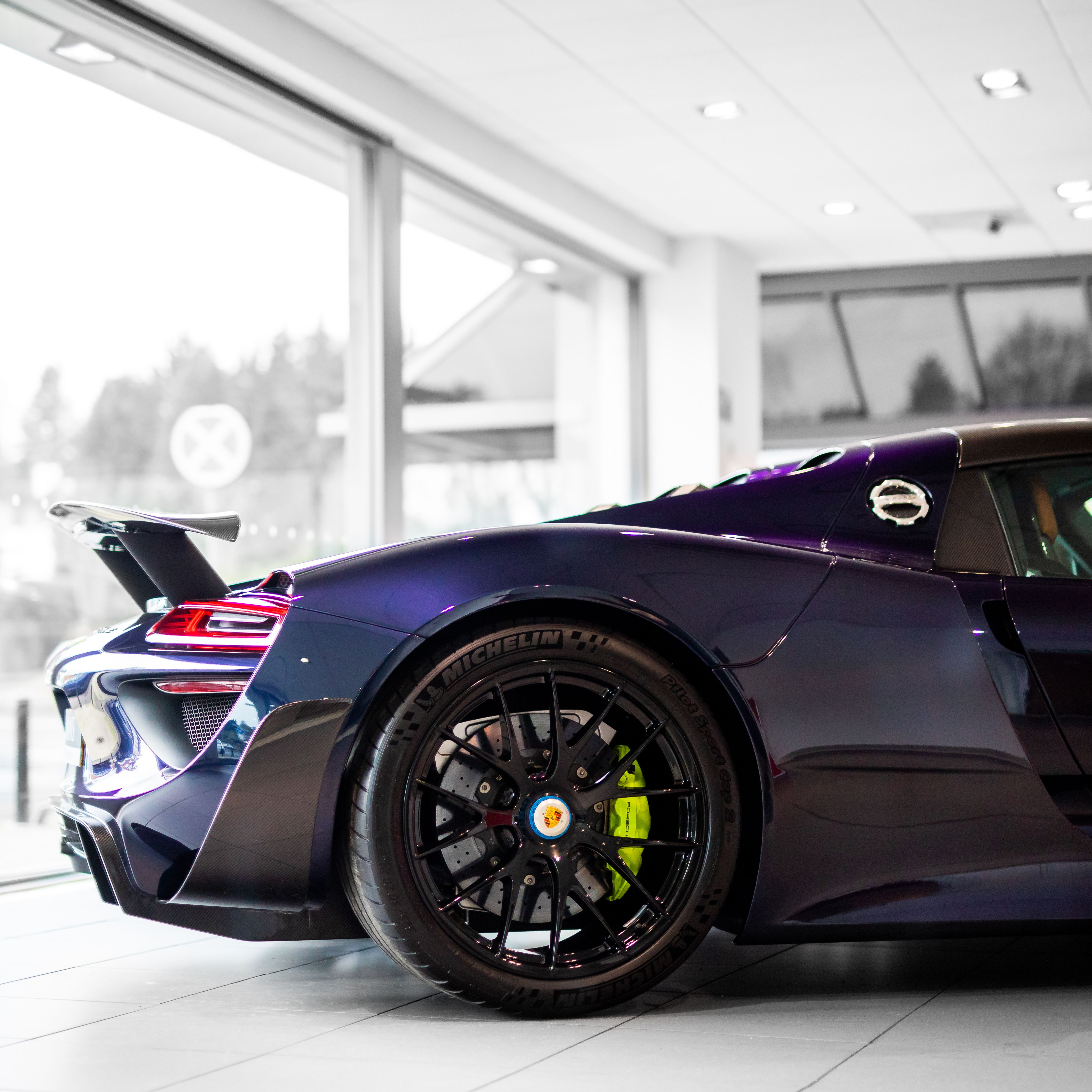 Midnight Blue 918 #Porsche #918 #Spyder #Hypercars #Cars