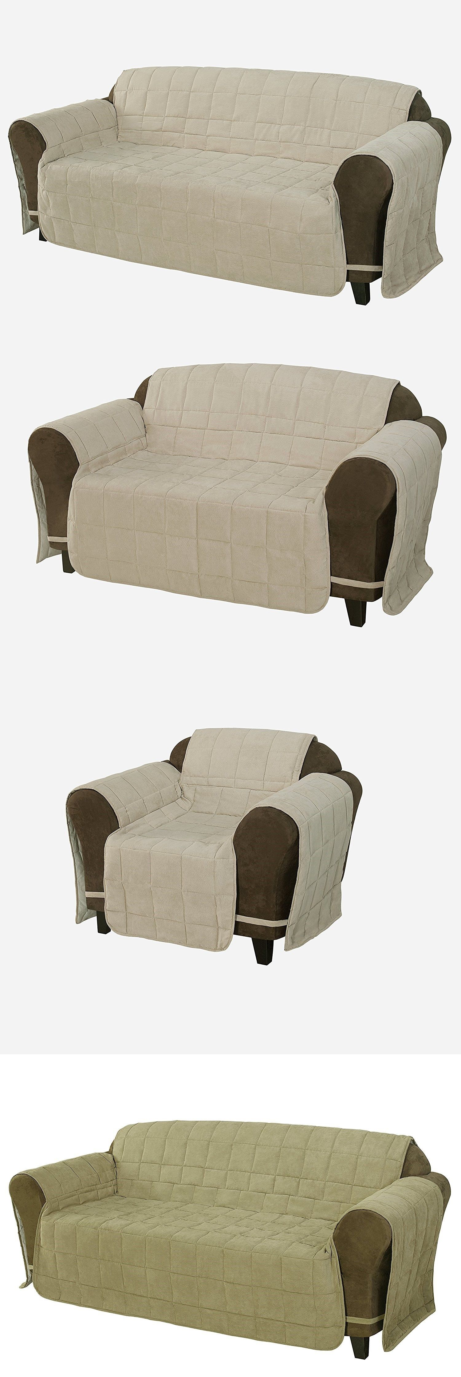 Slipcovers Quilted Micro Suede Pet Furniture Protector