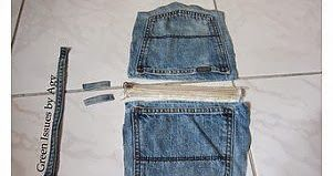 DIY SUPER IDEAS: Jeans Carrying Pouch