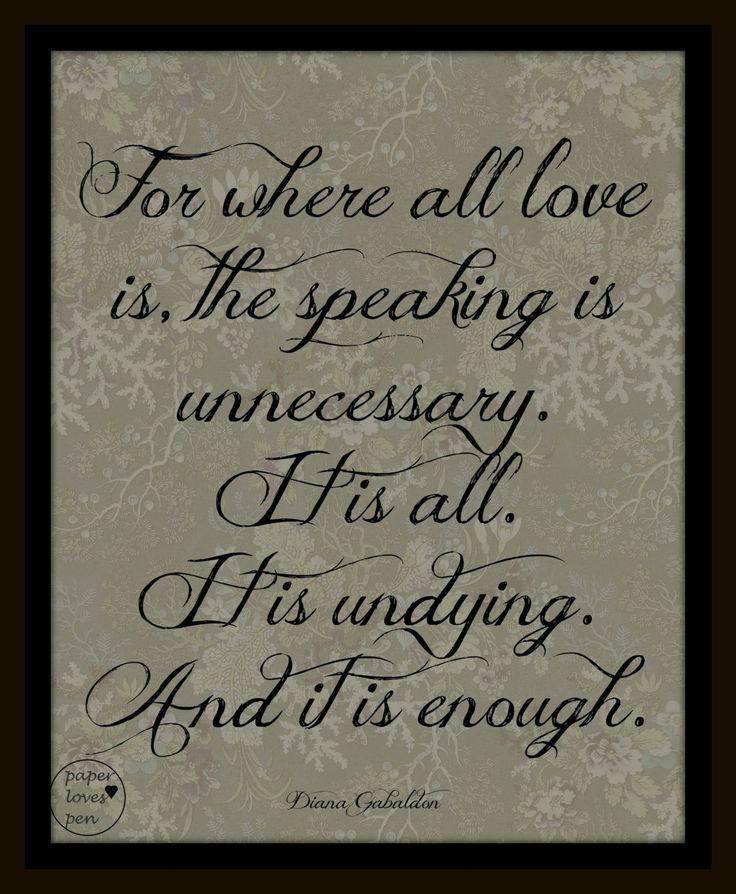 Wedding Photo Book Quotes: Diana Gabaldon Outlander Quote 8X10 Typography By