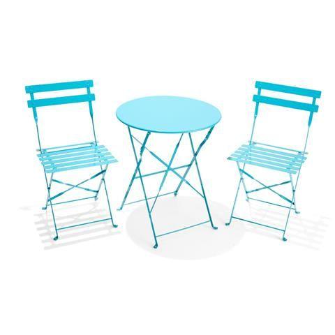 3-Piece Outdoor Bistro Setting - Teal | Kmart - 3-Piece Outdoor Bistro Setting - Teal Kmart House Outdoor