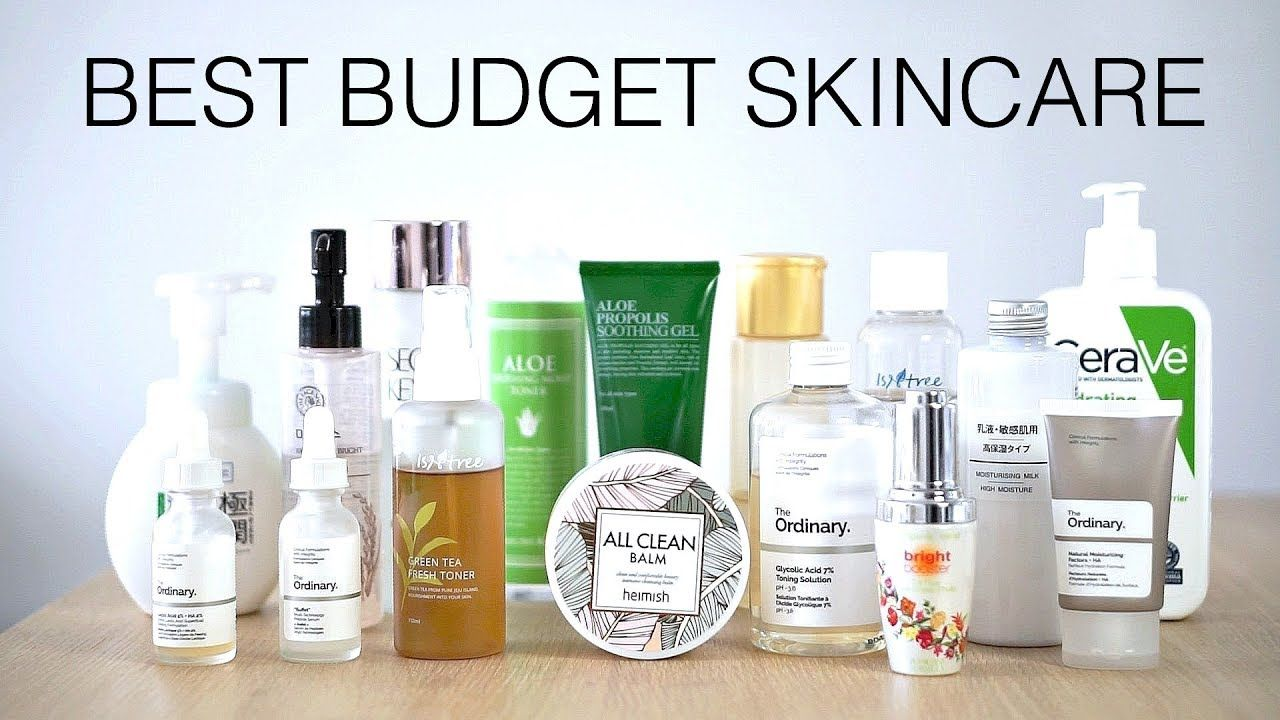 Love Her Want It All Best Budget Friendly Skincare Under 20 Youtube Skin Care Skin Care Steps Winter Skin Care Routine
