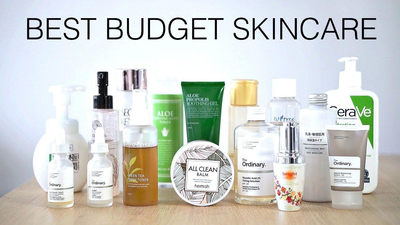 Best Budget Friendly Skincare under 20! Skin care