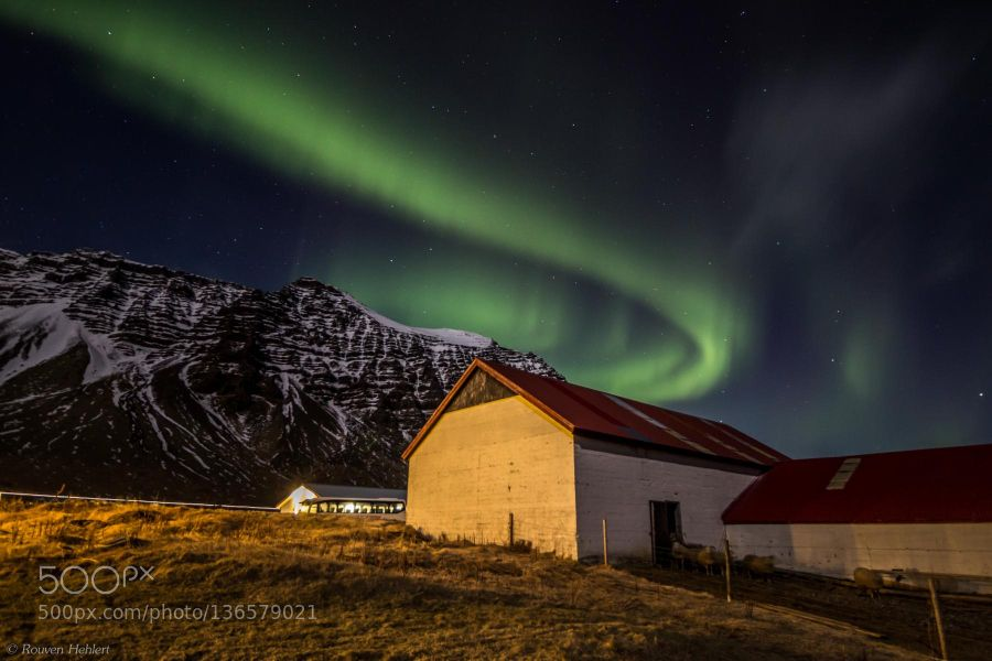Popular on 500px : Northern Lights in Iceland by jaerven
