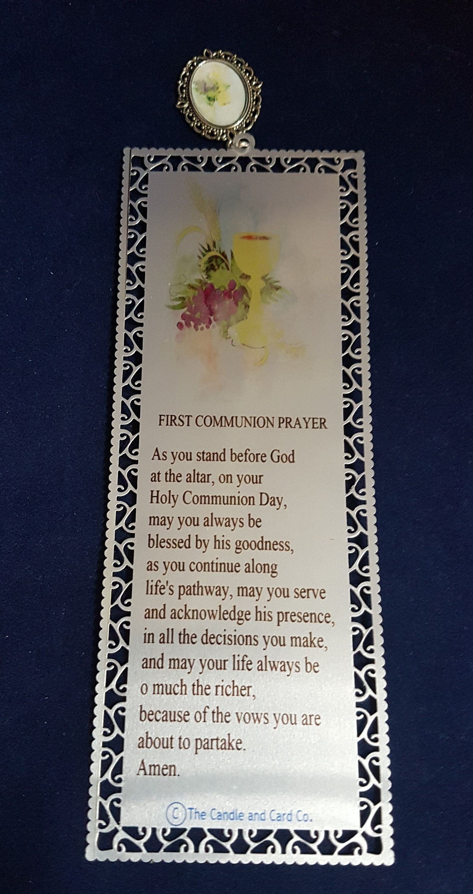 First communion gift first communion bookmark first