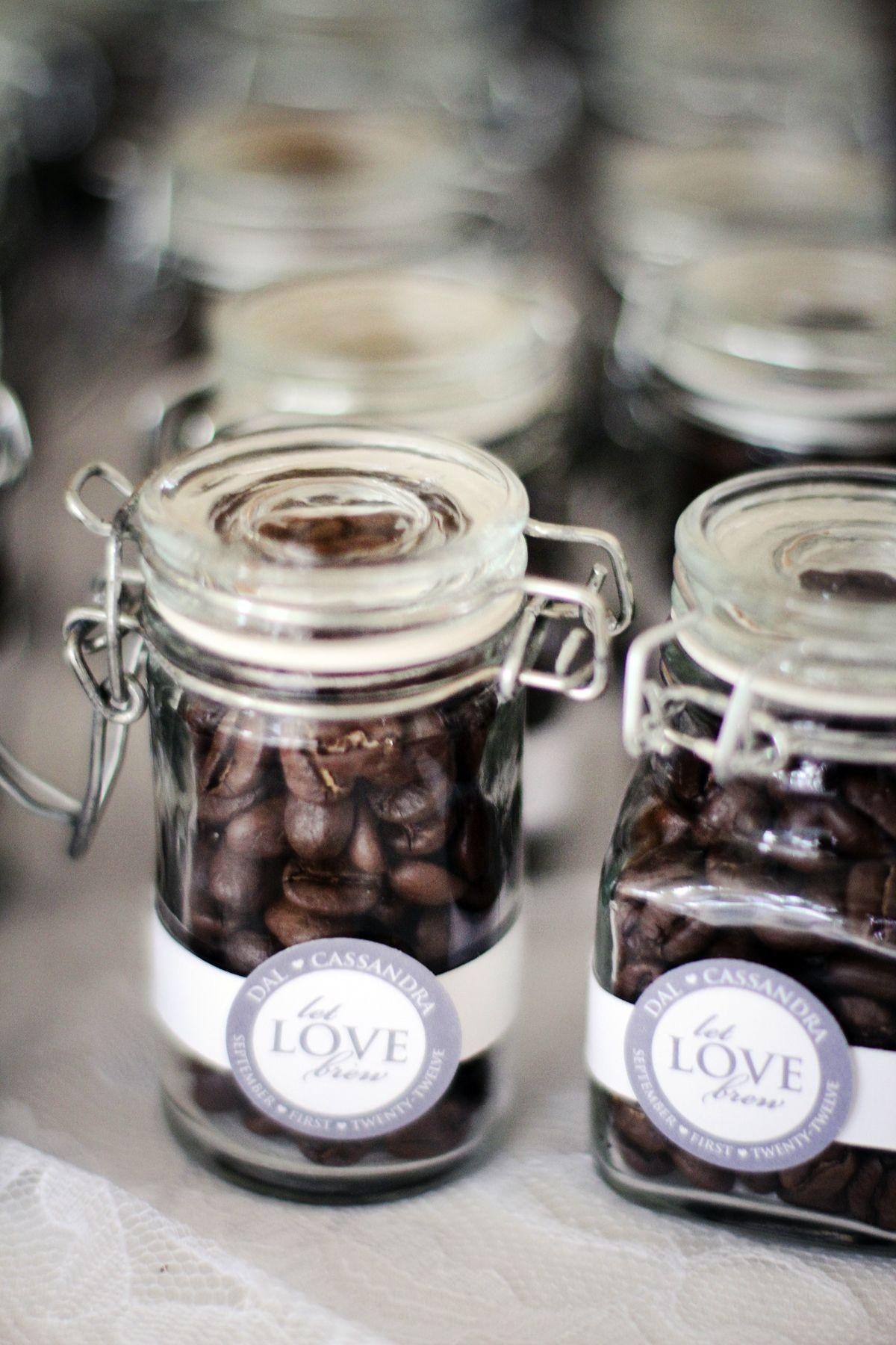 Wedding Favor Coffee Beans Tag Design Shortsweet Creative Photo