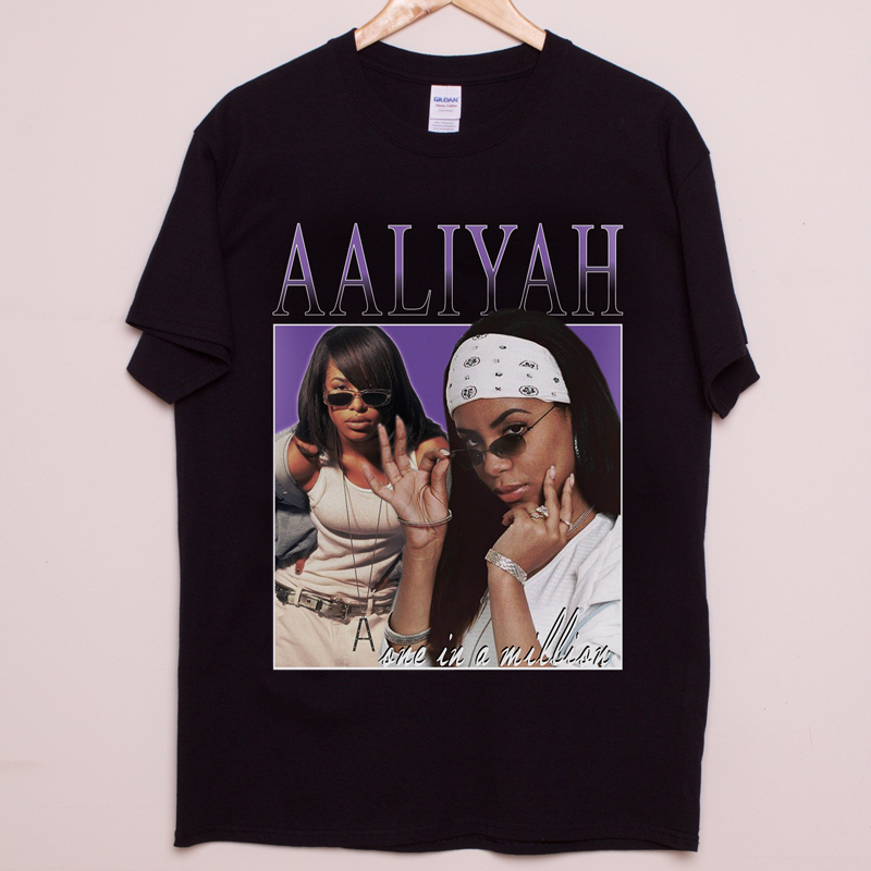 e616f1108 Aaliyah Tee Aaliyah T Shirt, Vintage Music, Mens Fashion, Fashion Outfits,  Girl