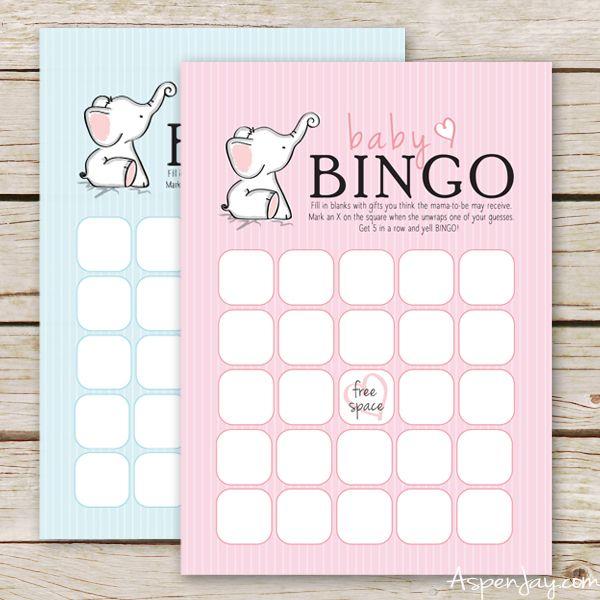Free Baby Bingo Cards Aspen Jay Free Baby Shower Printables Baby Shower Bingo Free Baby Shower Games