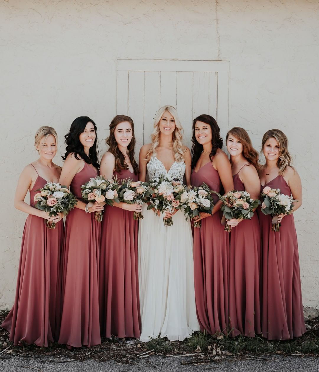 c3102d43a0 cinnamon rose is that perfect shade of a muted red 🌹 featuring the classic  inesse  jycinesse dress! photo by  alileighphoto…
