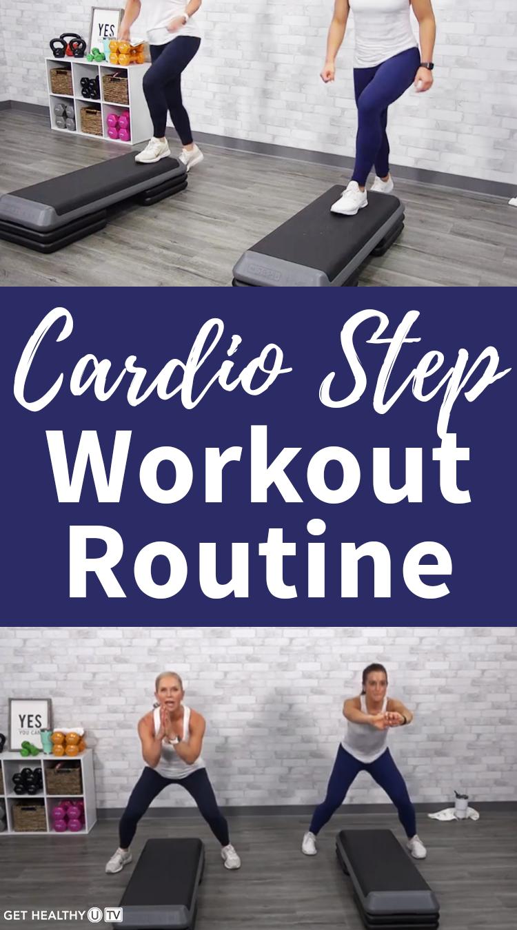 GOLD LIVE Class: Cardio Step 3