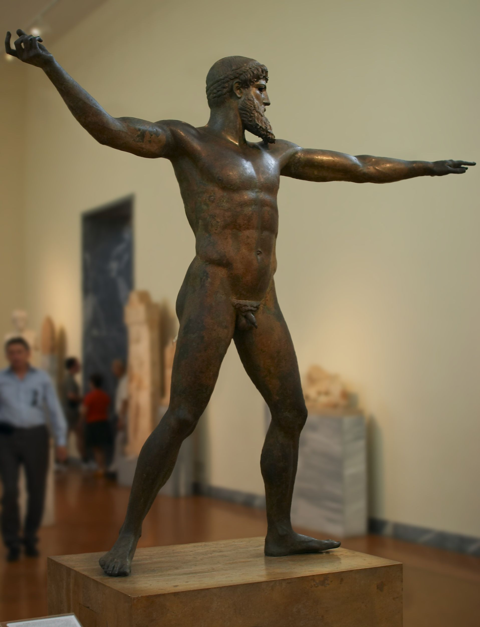 zeus or poseidon 460 450 bce bronze greek 6 10 art zeus or poseidon 460 450 bce bronze greek 6 10 art history museums posts and the two