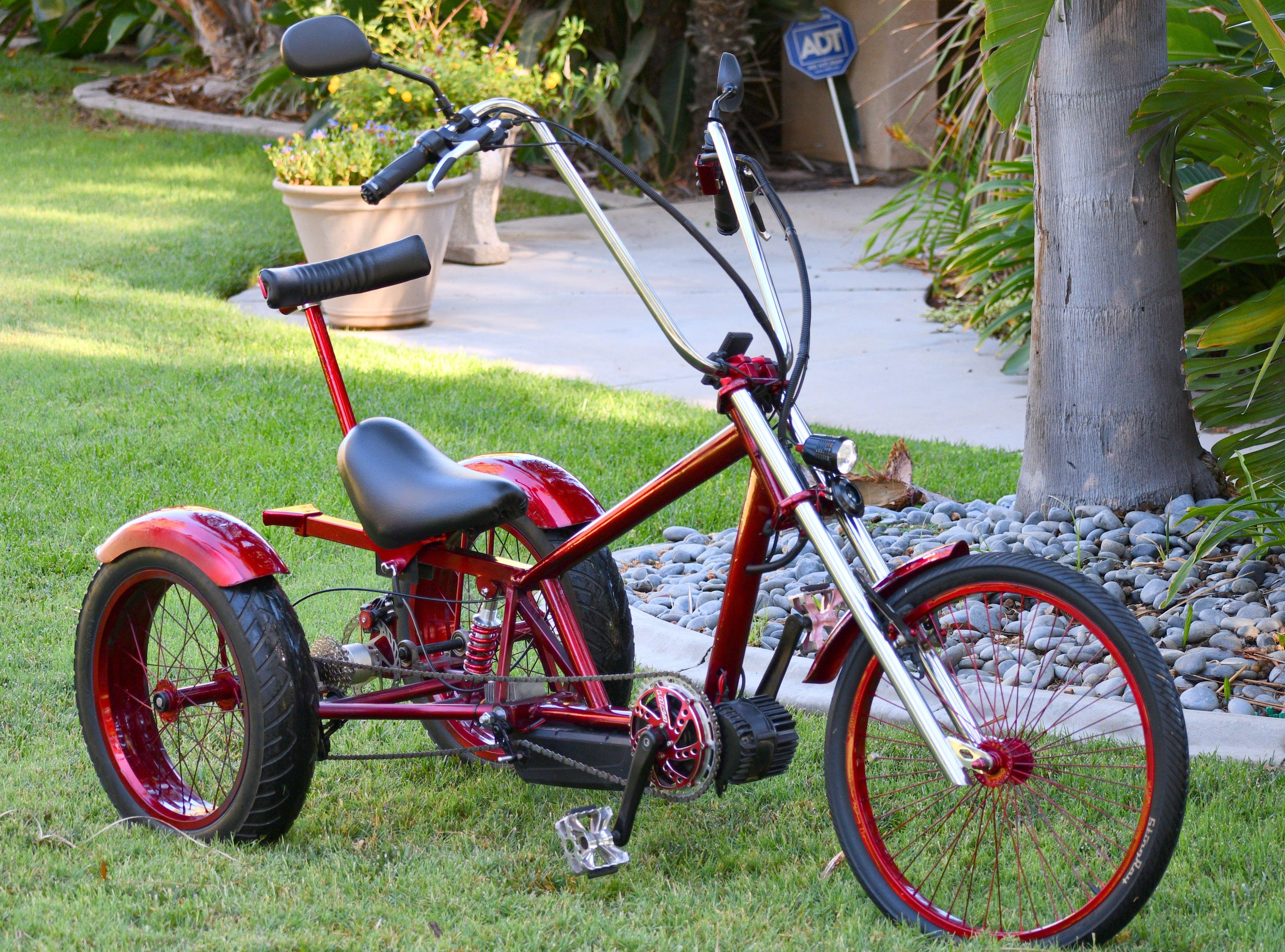 Trike By J Schrader Lowrider Bike Tricycle Bike Trike Bicycle