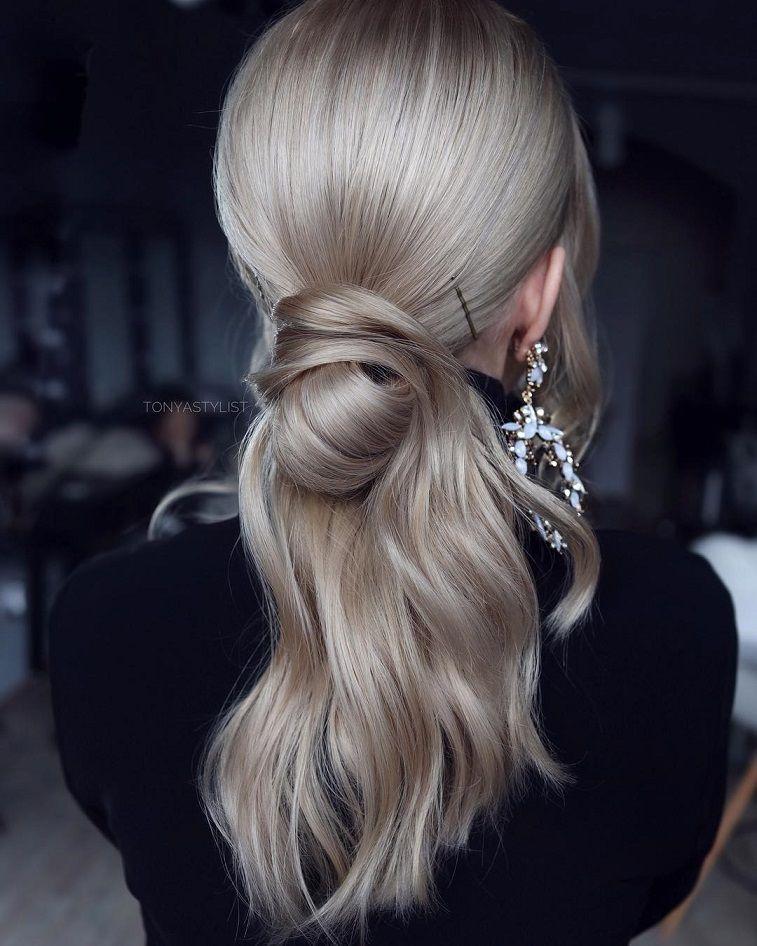Gorgeous ponytail hairstyle