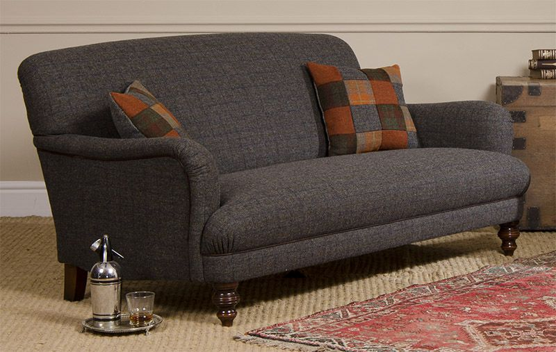 Harris Tweed Bowmore Midi Sofa Ex Display Sofas Uk Tetrad Braemar Garden Room Pinterest