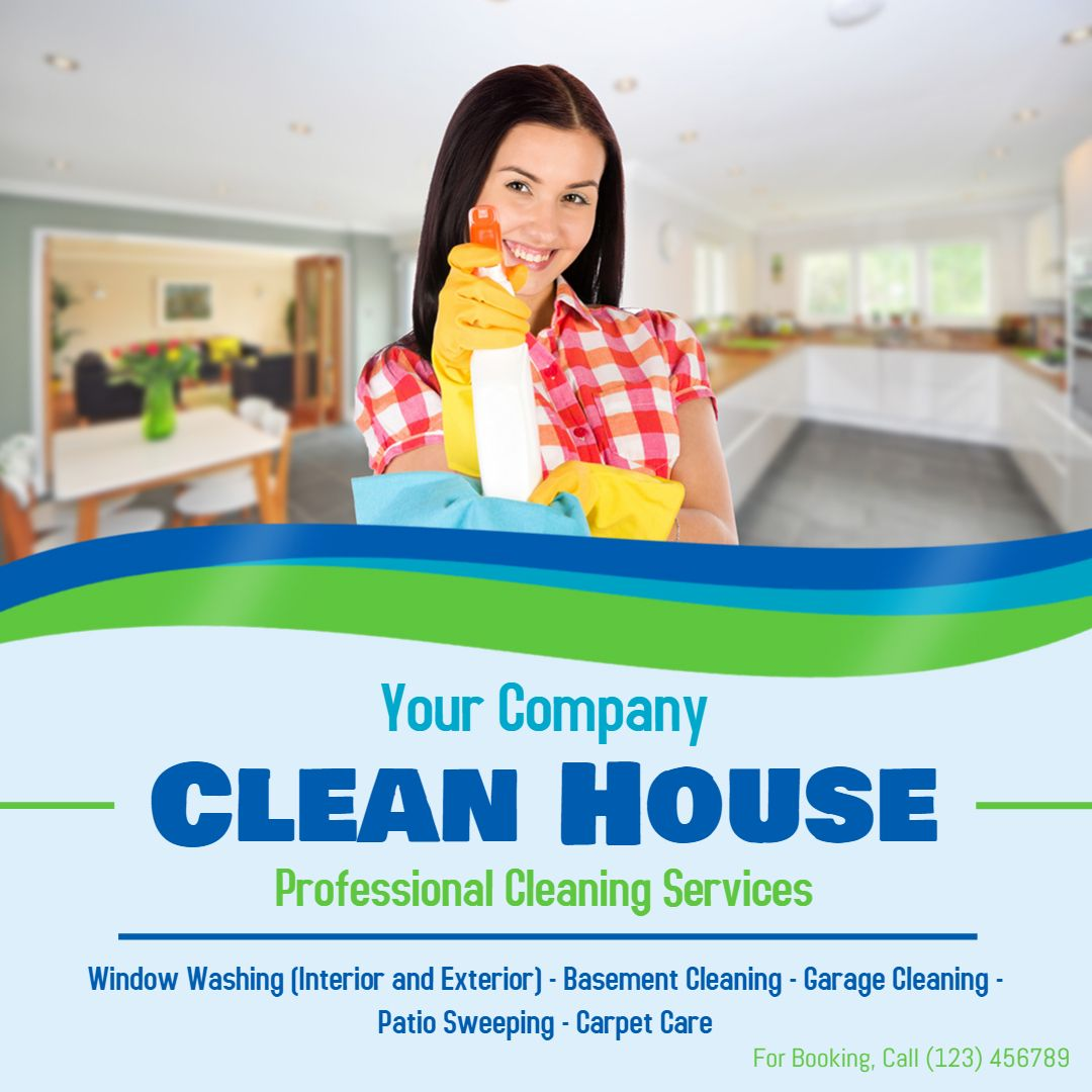 professional cleaner online advert sample