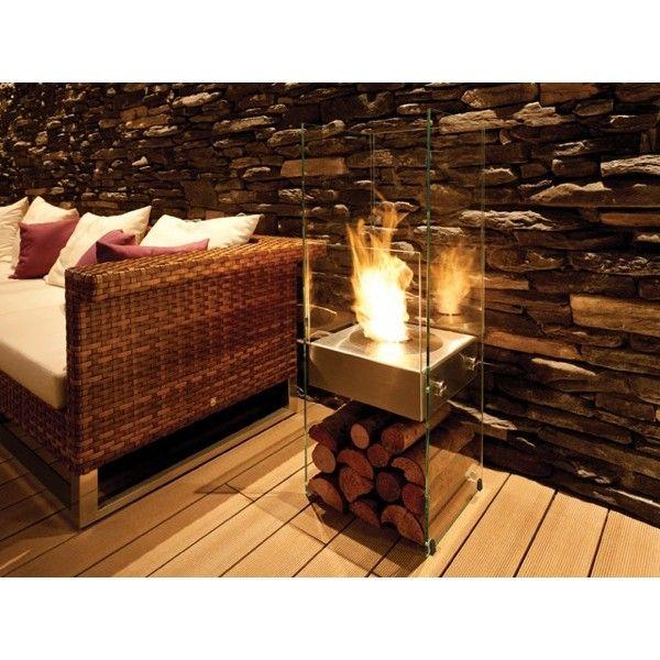 Best 25 Freestanding Fireplace Ideas On Pinterest
