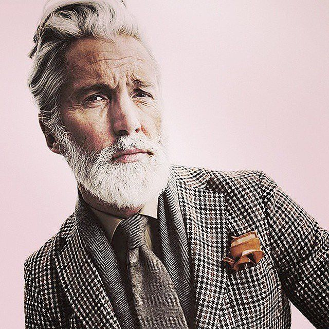 Magnificent 20 Shades Of Hot Gray Haired Guys Sexy Hair Color And Popsugar Hairstyle Inspiration Daily Dogsangcom