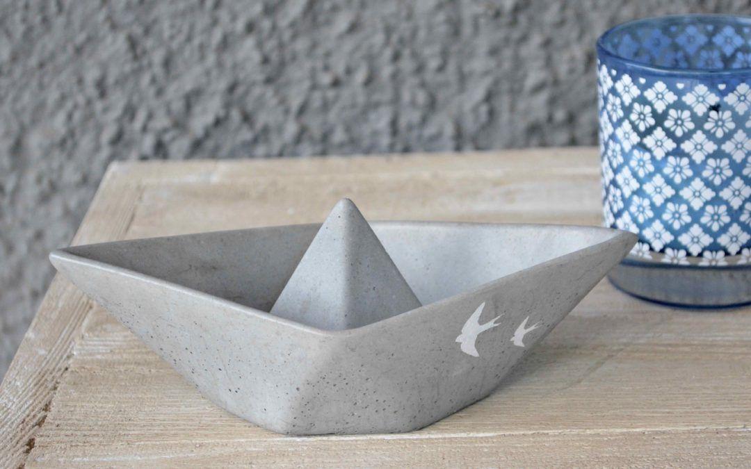 schiff ahoi beton schiff ahoi beton diy und basteln mit beton. Black Bedroom Furniture Sets. Home Design Ideas