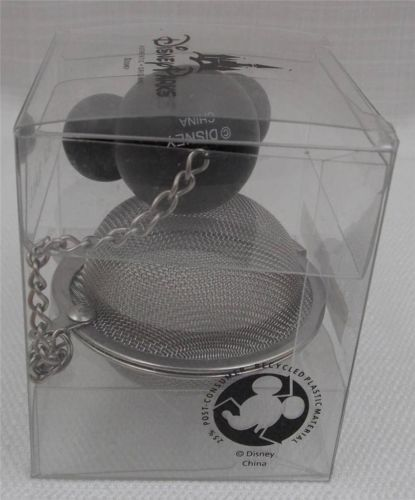 Disney-Theme-Parks-Mickey-Mouse-Icon-Tea-Ball-Infuser-Strainer-New