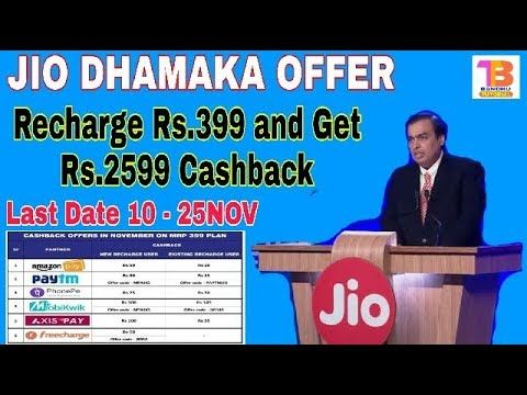 Reliance Jio offers cashback, vouchers worth Rs… | Reliance