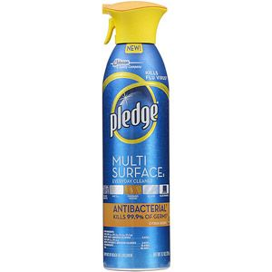 Pledge Multi Surface Antibacterial Citrus Furniture Spray 9 7 Oz