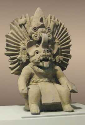 Camazotz...Bat God has power to heal any type of sickness; yet, he also has power of cutting silver cord of life that unites physical body to soul. Nahua Masters invoked Bat God to ask him for healing of disciples and friends. Town of Tzinacatlan in Chiapas (Mexico) is inhabited by Tzoctziles (people of the bat) from Mayan family and town of Tzinacantepec, valley of Toluca.