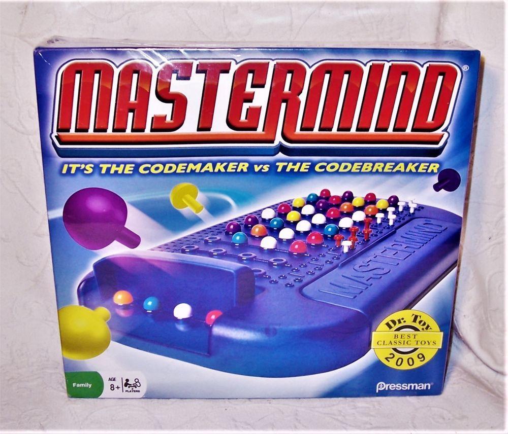 "©2009 Hasbro Pressman Mastermind® Game ""It's the Codemaker"