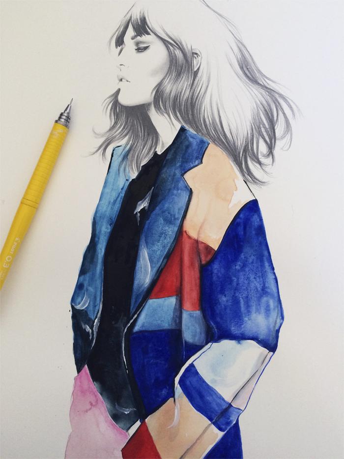 Esra Røise // News | Tuesday sketch