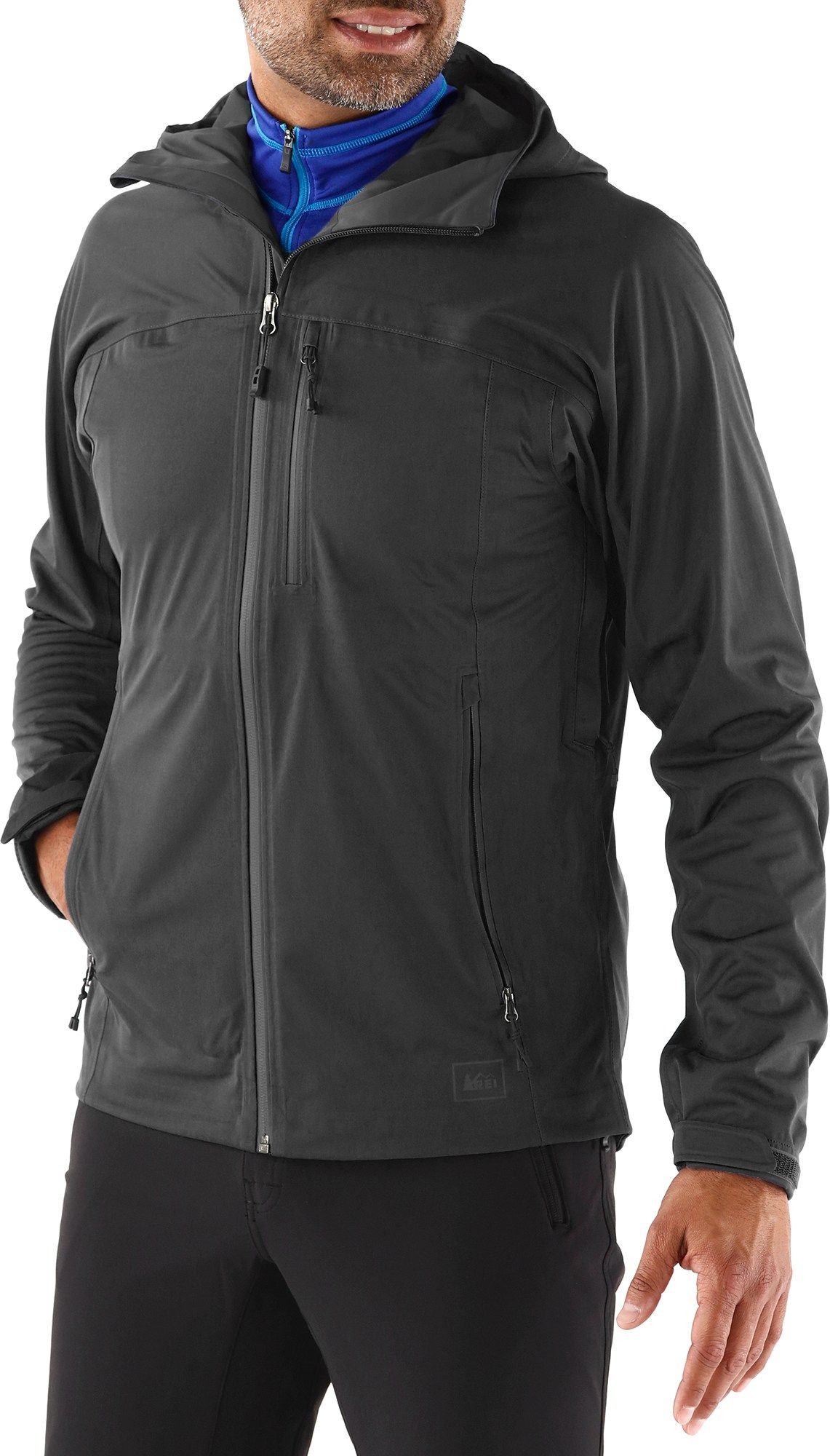 REI Motility Rain Jacket - Men's - Special Buy | Globetrotting ...