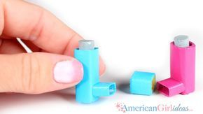 DIY American Girl Doll Inhaler Along with the doll fitbit, another item that has been requested a lot is a doll inhaler. I put it off for a while thinking it would be too hard to craft, but come on, anything can be crafted! And crazy enough, this was extremely easy once I started! I … #americangirldollcrafts
