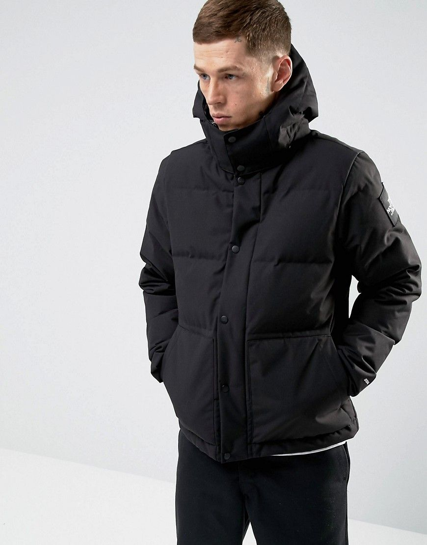 483db330a54f The North Face Box Canyon Down Jacket Detachable Hood in Black - Black