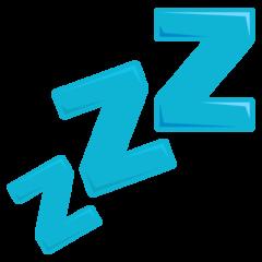 Zzz On Emojione 3 1 Emoji Symbols Sleep