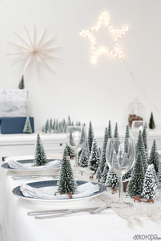 """Tischdeko für Weihnachten – 3 """"Pinteresting"""" Ideen"""