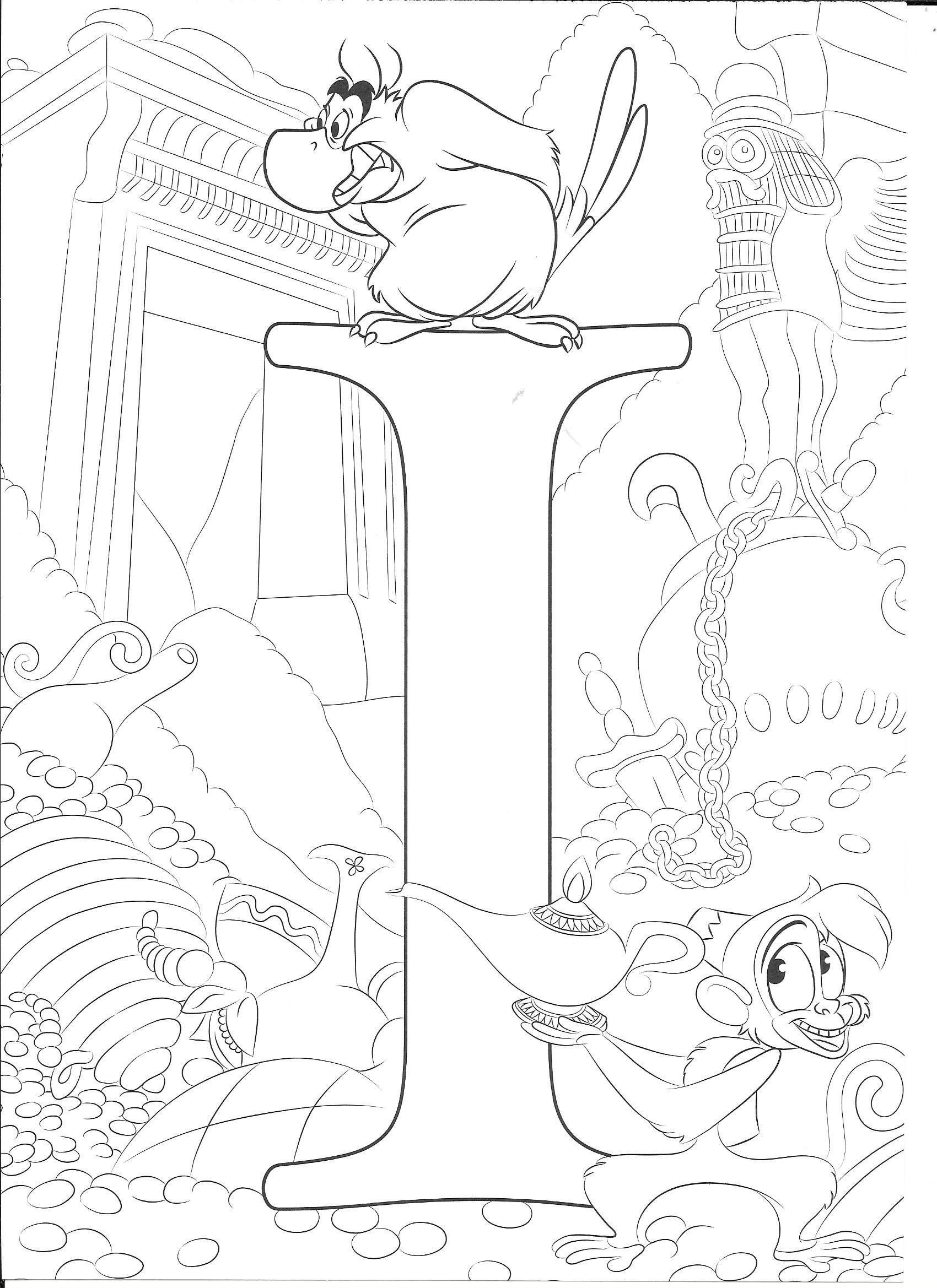 Coloring Page Disney Coloring Sheets Disney Coloring Pages Disney Alphabet In 2021 Abc Coloring Pages Disney Coloring Sheets Disney Coloring Pages