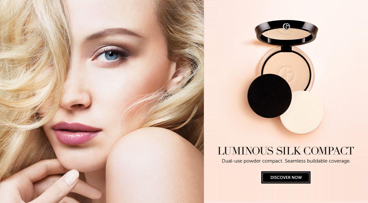 �ล�าร���หารู��า�สำหรั� Giorgio Armani Luminous Silk Compact