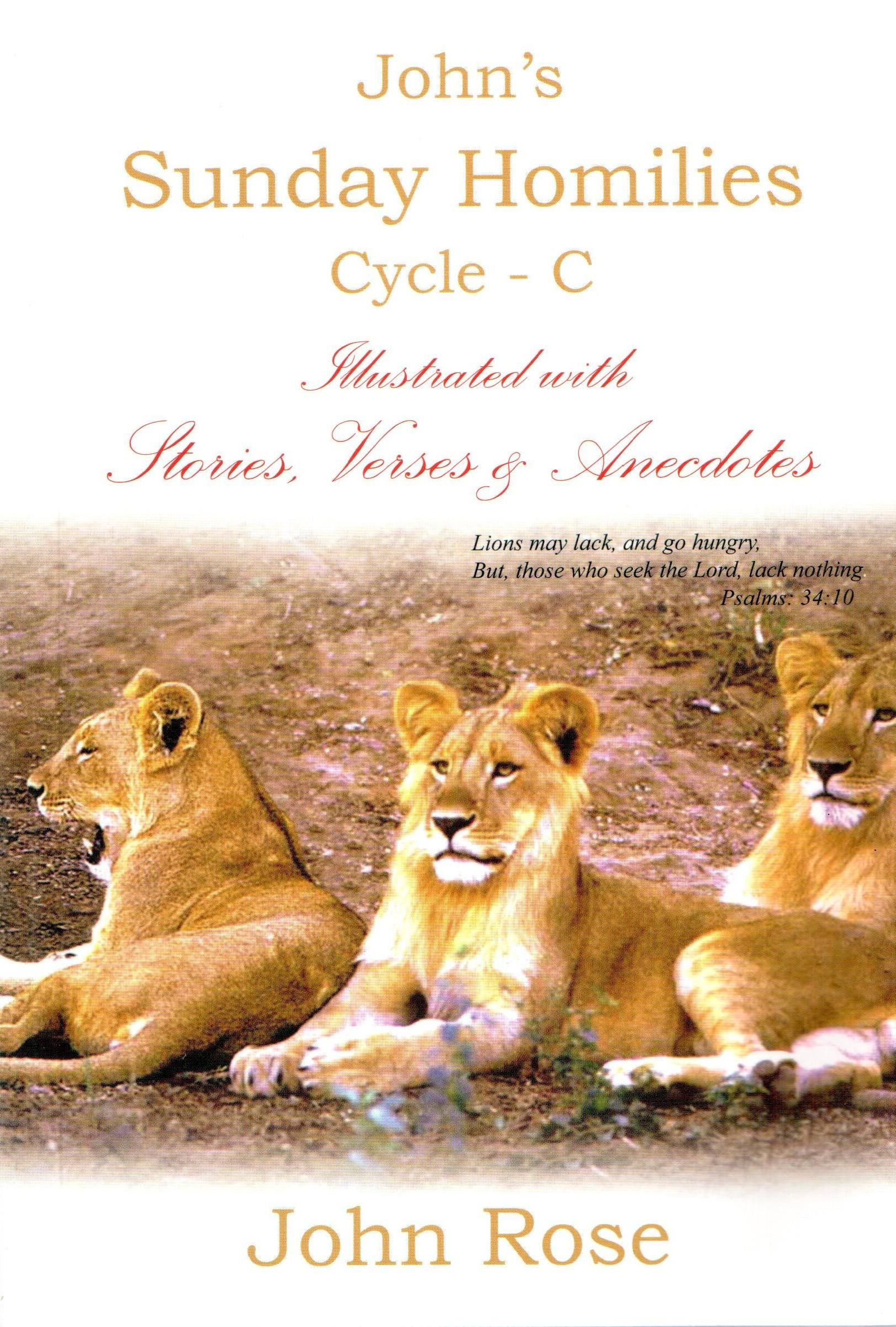 Sunday Homilies Cycle- C, Illustrated with Stories, Verses