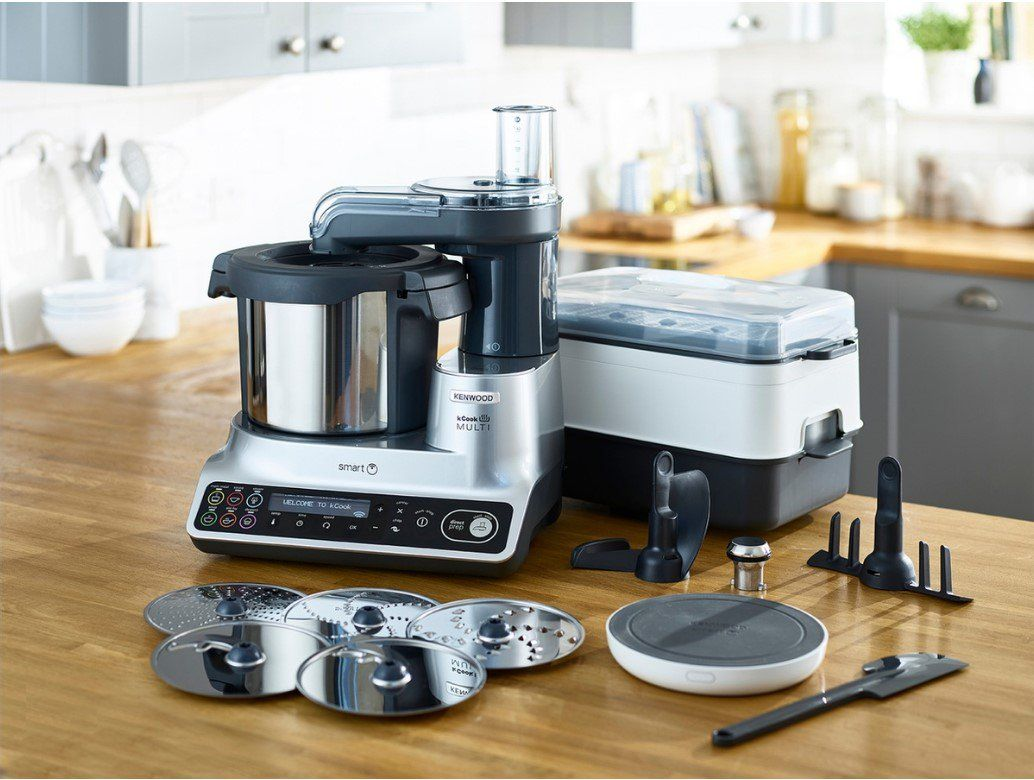 Robot Cuiseur Kenwood Ccl455si Kcook Multi Smart Electromenager