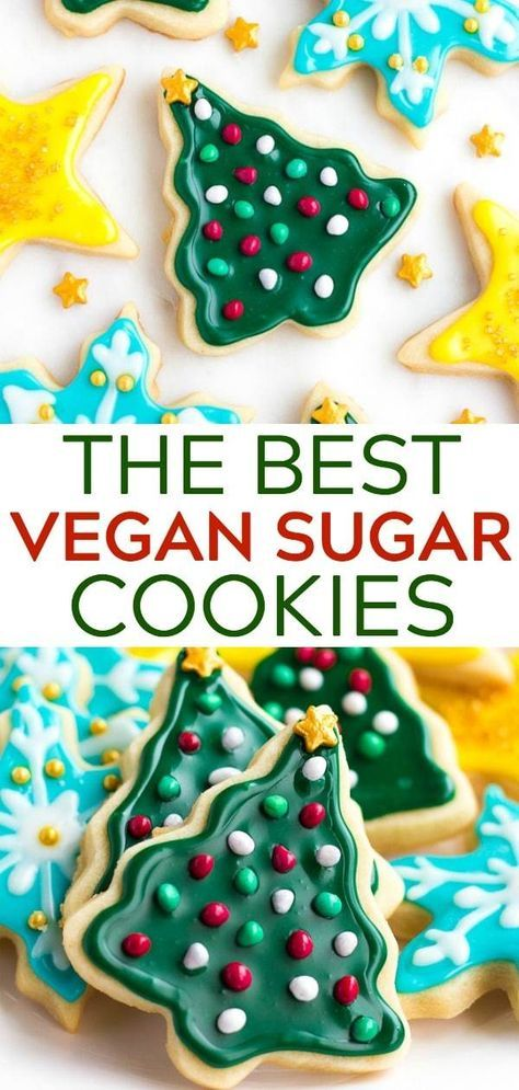 The Best Vegan Sugar Cookies