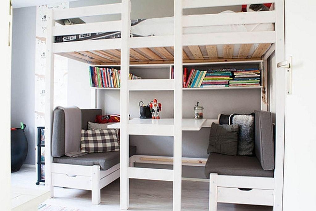 Image Result For Stora Loft Bed Ikea Design Bed With Desk Underneath Small Kids Bedroom Loft Bunk Beds