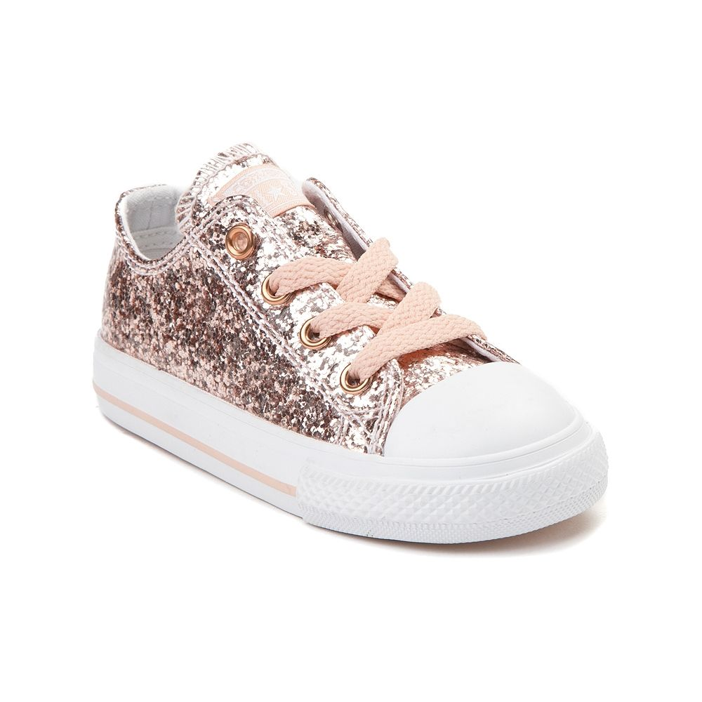 b2362841af8 Toddler Converse Chuck Taylor All Star Lo Glitter Sneaker - Blush - 99399595