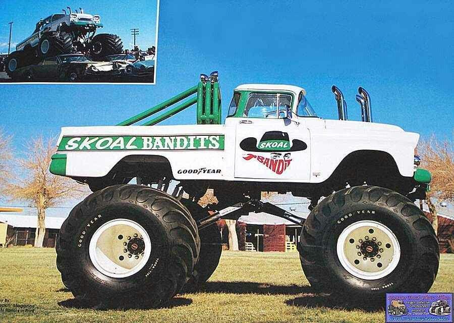 Of The Old School Vintage Monster Truck Old School Monsters